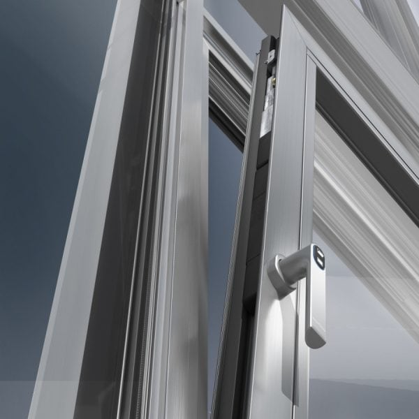 Security aluminium windows London