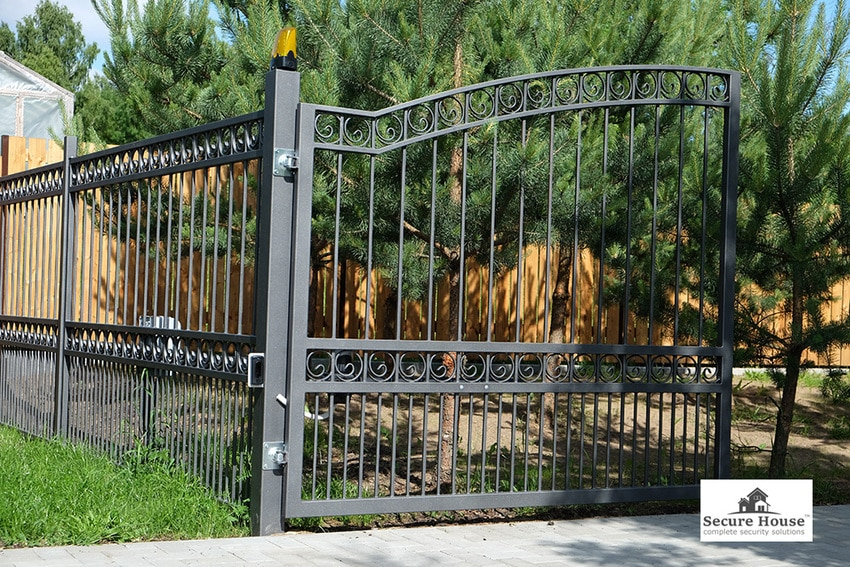 Security metal gates London - best security gates in whole