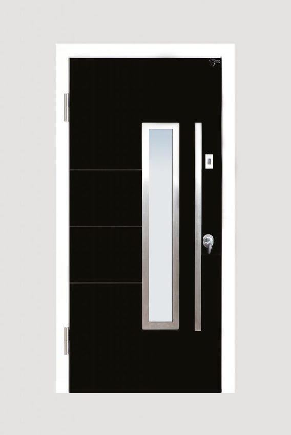 Stylish, sleek and über cool, one of our favourite door designs!