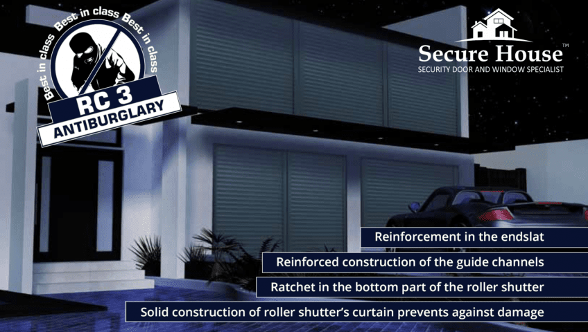 Security window shutters from Secure House
