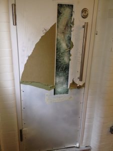 Burglarly attempt thwarted with supreme security doors from Secure House