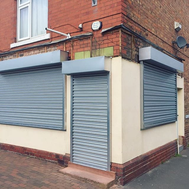 home security shutters london