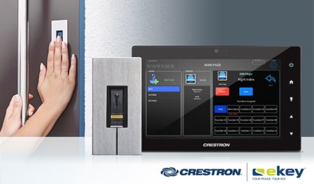 Fingerprint recognition for smart security doors from Secure House