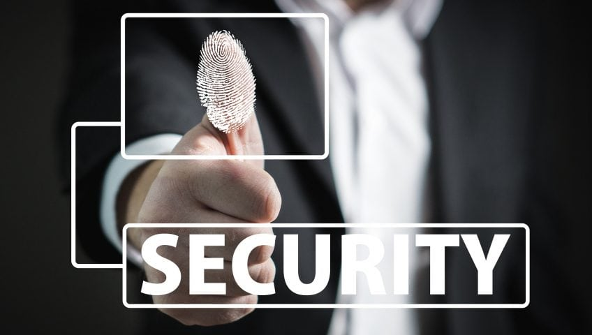Fingerprint recognition solutions for smart security doors