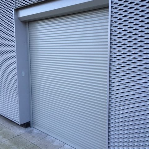 Aluminium security shutters from Secure House