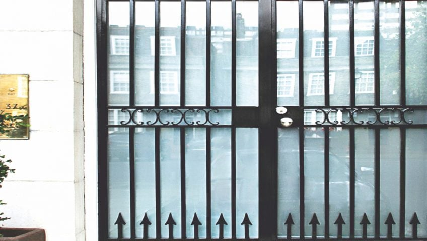 Security grilles from Secure House