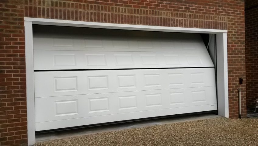 Overlap garage doors from Secure House will save you valuable space in your garage