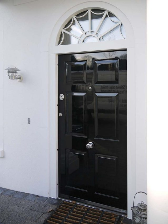 High gloss security door 6panfront1 768x1024 - Edwardian, Georgian or Victorian – what's your favourite home style?