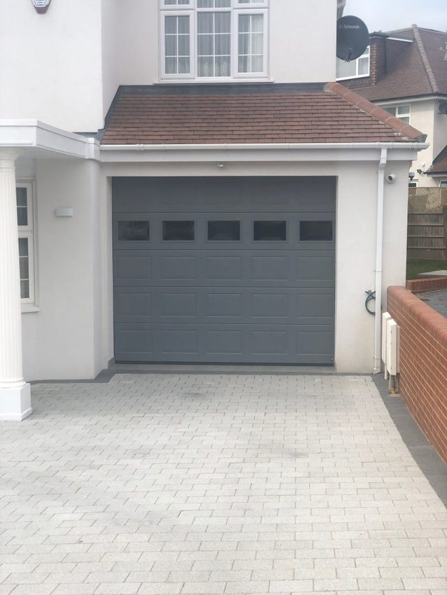IMG 9076 768x1024 - Sectional garage doors: durable and value for money