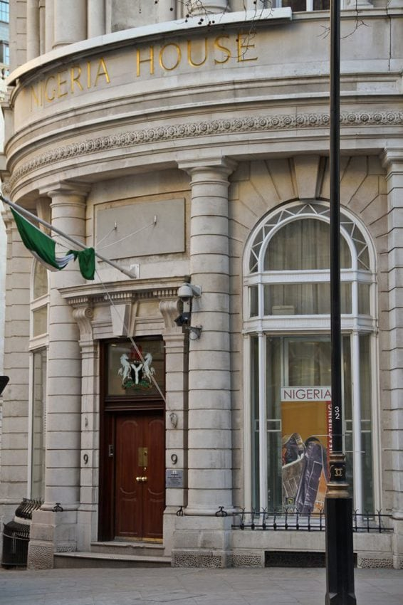 Secure House – the very highest level of security doors installed at the Nigerian embassy