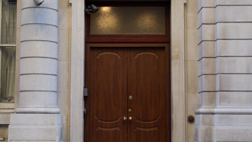 embassy security doors