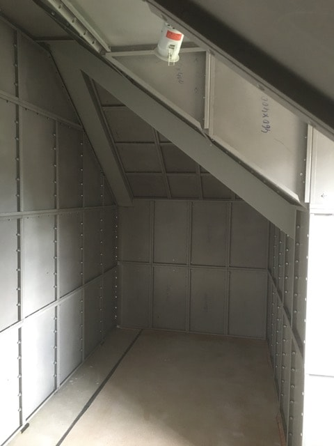 Creating a panic room using security walls