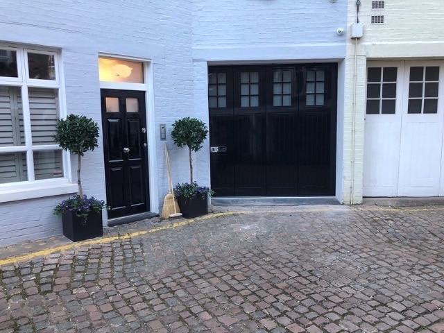 Conservation doors and garage doors for mews properties in London