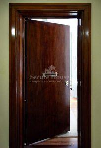 London apartment door