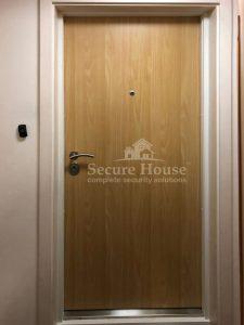 London Apartment Security Door