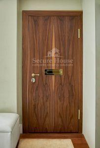 Apartment security door