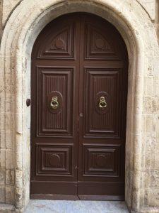 Secure House Arched door Design