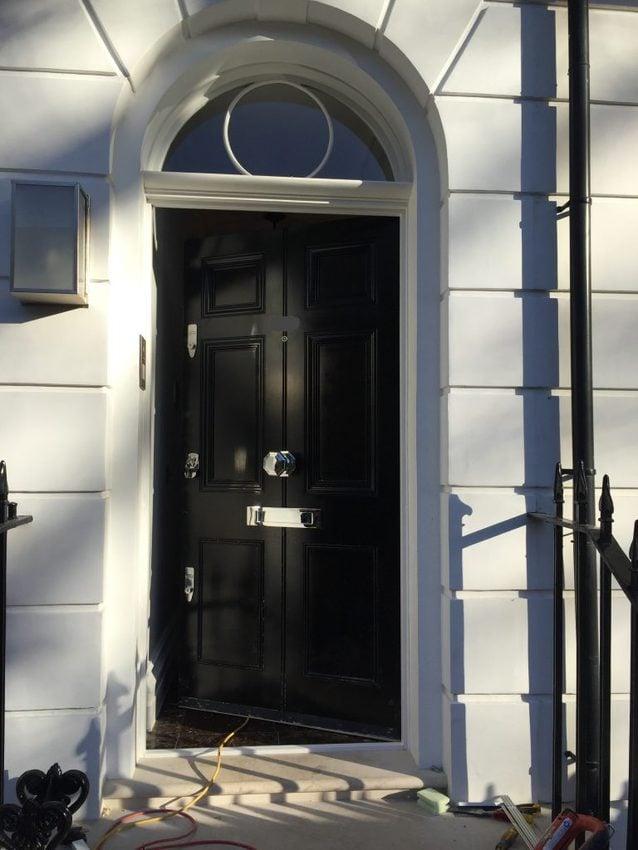 Replica doors in London