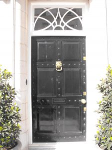 The original conservation area door that Secure House were tasked with replacing