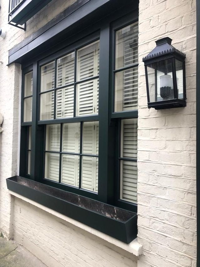 High security replica windows