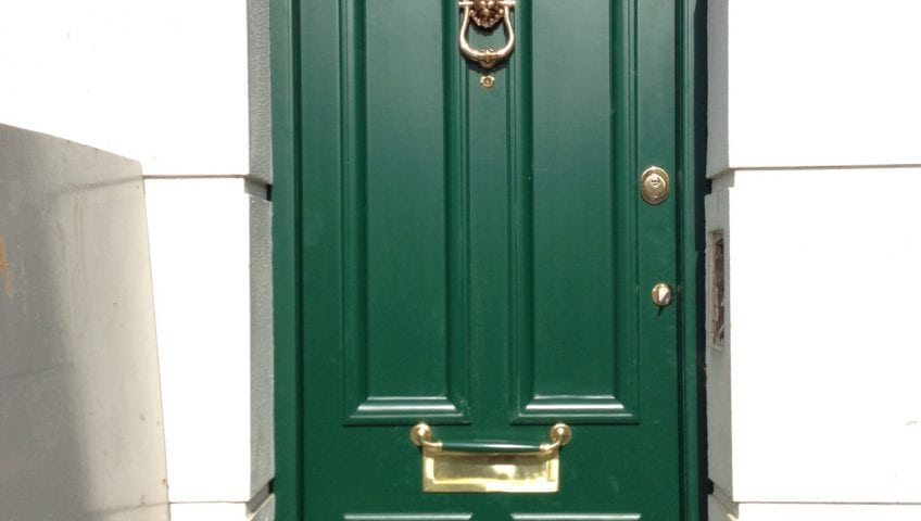 finished replica security door