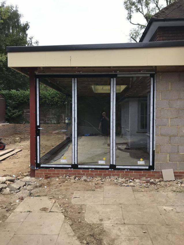 IMG 3199 2 768x1024 - Folding doors: doors in action