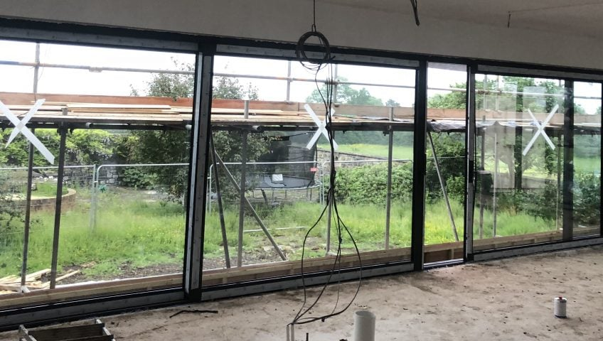Transform your home with folding doors!
