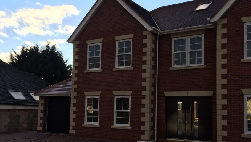 Oversize doors for a new build home